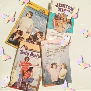 4/$15🌻 4 Vintage ApplePaperbacks Tween/Teen Books